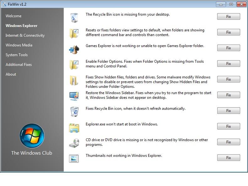 Ie8 Repair Tool Windows Xp