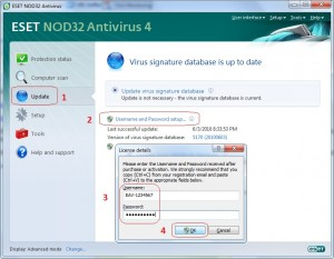 nod32 license